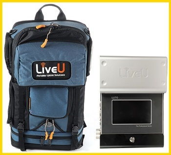 LiveU 3g streaming live service