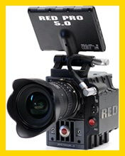 Red Scarlet rental in Italy