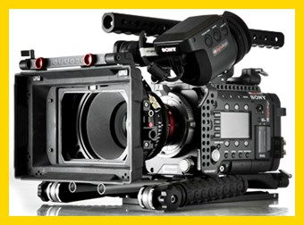 Sony F55 PMW HD 4K Cinealta Hire in Italy camera crew