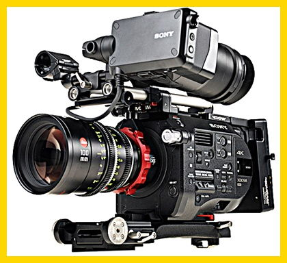 Sony FS7 PMW camera hire Italy